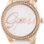 Guess Damen-Armbanduhr XS Analog Quarz Leder W0229L5 B00FB7PYQ2