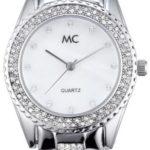 MC Timetrend Damen-Armbanduhr Analog Quarz Metallband 50116 B004YGK5HE