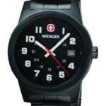 Wenger Herren-Armbanduhr XL Field Classic Analog Quarz Edelstahl beschichtet 01.0441.102 B00C82HREA