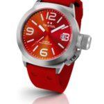 TW Steel Damen-Armbanduhr XL Canteen Style Analog Quarz Kautschuk TW-510 B00DJF0IY6