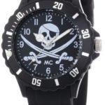 MC Timetrend Unisex-Armbanduhr Pirat Analog Quarz Kunststoff 51113 B00GGGODLE