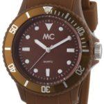 MC Timetrend Unisex-Armbanduhr Happy Time Analog Quarz Kunststoff braun 27370 B008F5FZLG