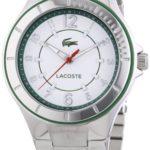 Lacoste Damen-Armbanduhr Acapulco Analog Quarz Edelstahl 2000814 B00I5PK74Q