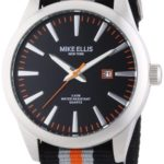 Mike Ellis New York Herren-Armbanduhr XL Analog Quarz Textilband 17993/2 B00H8VG5OY