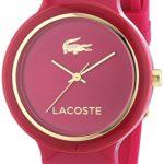 Lacoste Damen-Armbanduhr GOA Analog Quarz Silikon 2020087 B00MOCFLPG