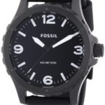 Fossil Herren-Armbanduhr XL Nate Analog Quarz Leder JR1448 B00I1S34BU