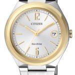 Citizen Damen-Armbanduhr XS Analog Quarz Edelstahl FE6024-55A B00HH7TOJC