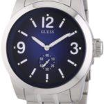 Guess Herren-Armbanduhr XL Analog Quarz Edelstahl W13571G2 B004LJ0MLS