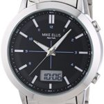 Mike Ellis New York Herren-Armbanduhr XL Analog – Digital Quarz Edelstahl SL4-60220 B00LNB0X66