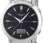 Mike Ellis New York Herren-Armbanduhr XL Analog – Digital Quarz Edelstahl SL4-60220 B00LNB0X66