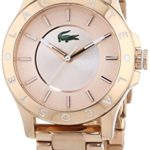 Lacoste Damen-Armbanduhr XS MADEIRA Analog Quarz Edelstahl beschichtet 2000851 B00MNFP57S