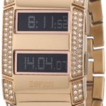 Esprit Damen-Armbanduhr Esprit Watch Fulmina Centauri Rose Digital Quarz Edelstahl beschichtet ES101242703 B002VPCHK8