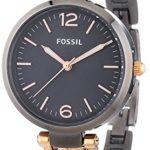 Fossil Damen-Armbanduhr XS Georgia Analog Quarz Edelstahl ES3111 B009IBJN1Y