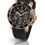 TW Steel Herren-Armbanduhr XL Diver Chronograph Quarz Kautschuk TW-702 B00GTPYF7O