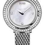 Hugo Boss Damen-Armbanduhr Analog Quarz Edelstahl 1502341 B00BU658ZK