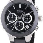 DKNY Damen-Armbanduhr Chronograph Quarz Keramik NY4914 B003JLD4HS