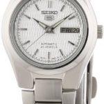 Seiko Damen-Armbanduhr XS Seiko 5 Analog Automatik Edelstahl SYMC07K1 B000ZBUY78