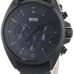 Hugo Boss Herren-Armbanduhr XL Driver Chronograph Quarz Leder 1513061 B00KXWZFR8