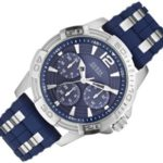 Guess Herren-Armbanduhr XL Analog Quarz Kautschuk W0366G2 B00I9MATP2