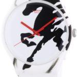 Swatch Unisex-Armbanduhr Chinese New Year 2014 Year Of The Horse Analog Quarz Silikon SUOZ169 B00HR2AIU6