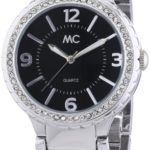 MC Timetrend Damen-Armbanduhr Analog Quarz Metallband 27601 B00GGGOABC