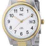 MC Timetrend Herren-Armbanduhr Analog Quarz Metallband 26763 B009Z7NG6E