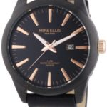 Mike Ellis New York Herren-Armbanduhr XL Analog Quarz Kunstleder 17993/1 B00H8VFZQ8