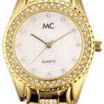MC Timetrend Damen-Armbanduhr Analog Quarz Metallband 50115 B004YGK6I2