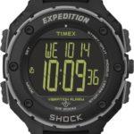 Timex Herren-Armbanduhr XL Timex Expedition Shock XL Vibrating Digital Quarz Plastik T49950 B00CYZO6RW