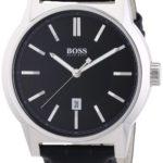 Hugo Boss Herren-Armbanduhr XL Analog Quarz Leder 1512911 B00EHKQ9UE