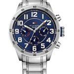 Tommy Hilfiger Watches Herren-Armbanduhr XL TRENT Analog Quarz Edelstahl 1791053 B00MLYDNKM