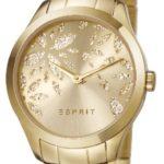 Esprit Damen-Armbanduhr Analog Quarz Edelstahl beschichtet ES107282003 B00H51L1CI