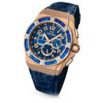 TW Steel Damen-Armbanduhr XL TECH Chronograph Quarz Leder TWCE4007 B00EYYUIQO