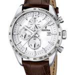 Festina Herren-Armbanduhr XL Analog Quarz Leder F16760/1 B00JOFJ0PI
