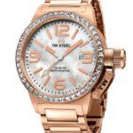 TW Steel Damen-Armbanduhr Canteen Style bracelet Analog Quarz Edelstahl beschichtet TW-305 B00AIAACXM