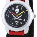 MC Timetrend Jungen-Armbanduhr Pirat Analog Quarz Textil 50381 B004YGK6IC