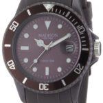 MDWJ5|#Madison New York Madison New York Unisex-Armbanduhr Candy Time Analog Silikon taupe U4167-08/2 B005L8YXVS