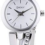 DKNY Damen-Armbanduhr XS Analog Quarz Edelstahl NY2173 B00JVQ0F2M