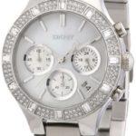 DKNY Damen-Armbanduhr Chronograph Quarz Edelstahl NY8507 B007449ZAQ