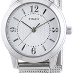Timex Damen-Armbanduhr XS Womens Dress Bracelet Analog Quarz Edelstahl T2P457 B00N1T1YSO