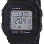 Casio Collection Unisex-Armbanduhr Digital Quarz W-800H-1AVES B000VE5XL6
