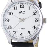 MC Timetrend Herren-Armbanduhr Analog Quarz Leder 27658 B00IMB46X6