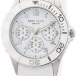 Mike Ellis New York Damen-Armbanduhr XS Analog Quarz Silikon S2703ASS B00DIR79VU