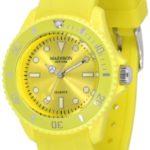 Pastell Gelbe Madison New York Candy Time Mini Damen Armbanduhr B007CXDEHY