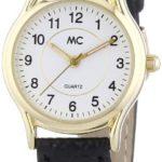 MC Timetrend Damen-Armbanduhr Analog Quarz Leder 16783 B00IMB435C