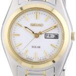 Seiko Damen-Armbanduhr XS Analog Quarz Edelstahl beschichtet SUT108P1 B00E99VWWI