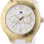 Tommy Hilfiger Watches Tommy Hilfiger Damen-Armbanduhr Casual Sport Analog Quarz Silikon 1781329 B00ENWS56M