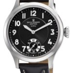 Revue Thommen Mens 16061.3537 Air speed Mens Black Face Mechanical Watch Watch B005ETCJV0