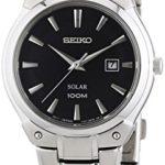 Seiko Damen-Armbanduhr XS Solar Analog Edelstahl SUT141P1 B00IS3T8F4