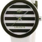 MGLA5|#Lacoste Lacoste Unisex-Armbanduhr GOA Analog Silikon 2020024 B007CUJ5F2